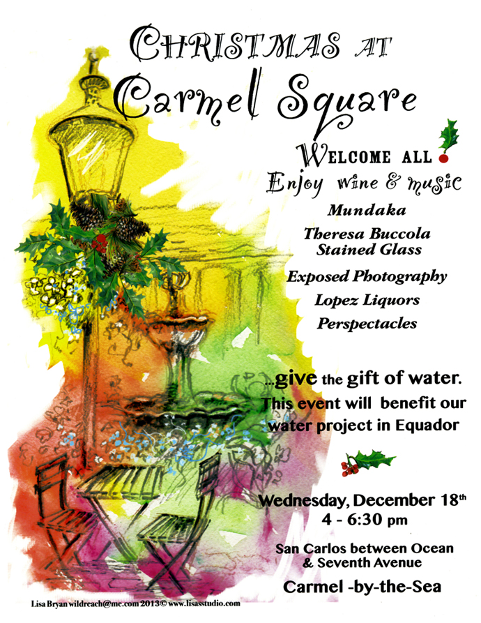 Christmas at Carmel Square Fundraiser
