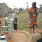 India, CRCW, finished water well - 1, LWI, 2013