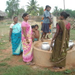 India, CRCW, finished water well - 2, LWI, 2013